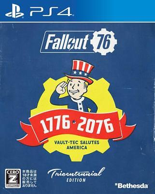 Bethesda Fallout 76 Tricentennial Edition Sony PlayStation 4 PLJM-16297
