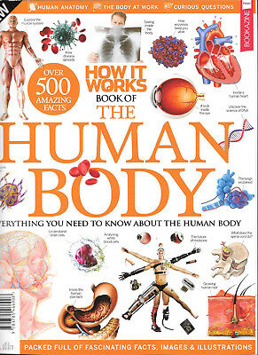 HOW IT WORKS Book of the Human Body ( 9th Edition) FACTS IMAGES & ILLUSTRATIONS