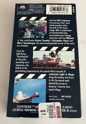 The Secrets of The Back To The Future Trilogy (VHS)