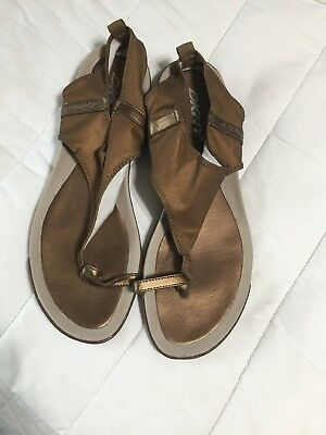 99e1efb77c4 DKNY WEDGE SANDALS Size 10 Women