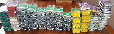 66 pack lot of wall anchors, concrete, molly, toggle, plastic, drywall fastener