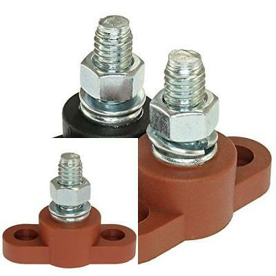 Positive Insulated Battery Junction Post Block 3 8 Lug X 16 Thread