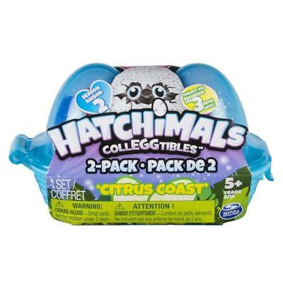 Nice Hatchimals Colleggtibles Citrus Coast Rare Holiday Stocking Christmas Xmas Electronic & Interactive