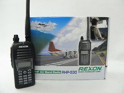 Rexon Air band Handheld Transceiver COM & VOR No BT
