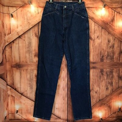a9e6b584af2 ROCKIES Vintage 90s High Waist Cowgirl Rodeo Denim Jeans Women s 32 13 X -Long