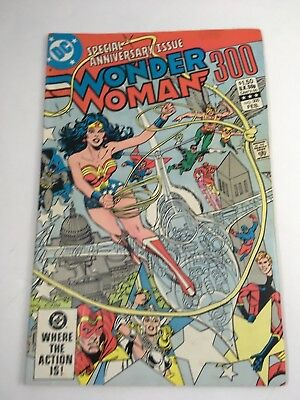 Wonder Woman # 300 Anniversary Issue  1st App Fury II DC Comics 1983 FN