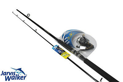 Jarvis Walker Comet 12ft Surf Combo Spinning Fishing Rod Reel Boat Gear
