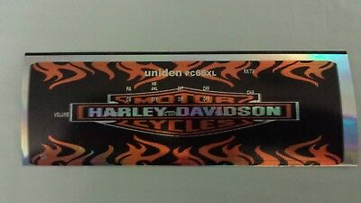 Uniden PC 66 XL CB Radio Face Plate Decal