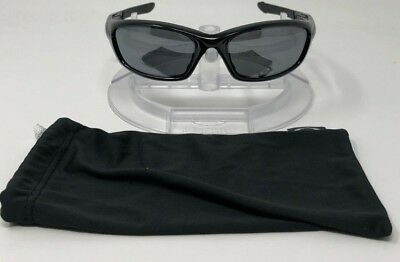 0a0f47b7935 Oakley Sunglasses Straight Jacket Polished Black   Iridium Polarized 12-935