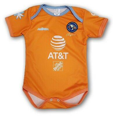 promo code 653f1 5959c CLUB AMERICA 2019 Soccer Third Jersey Baby One Piece Jumpsuite Mameluco