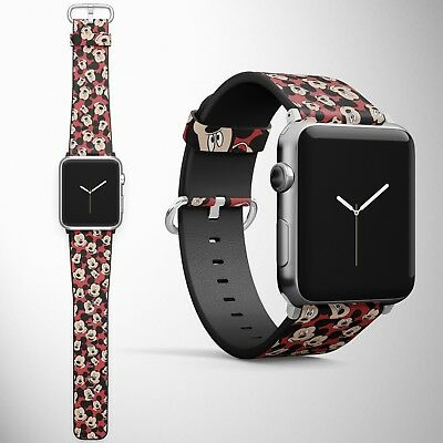 Mickey Mouse Apple Watch Band 38 40 42 44 mm Series Disney 1 2 3 4 Wrist Strap 1