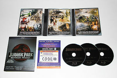 Jurassic Park Ultimate Trilogy (Blu-ray Disc - 2011, 3-Disc Set)