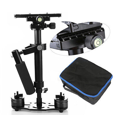 """HOT 16""""/40cm Handheld Stabilizer Camera Glidecam Quick Release Plate + Bags S40"""