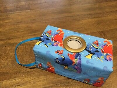 Modern, Hanging Tissue Box Cover, & a Circle Opening, (35)
