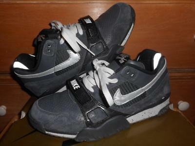 70282931591686 Nike Air Trainer 2 SB Anthracite Reflect Silver Leather 318480 001 Sz 9.5  2008