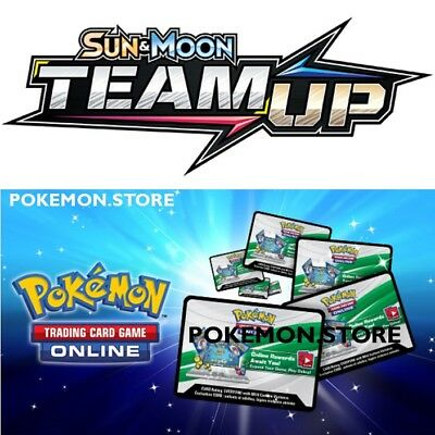 100 Team Up Codes Pokemon TCG Online Booster - sent INGAME / EMAILED FAST!