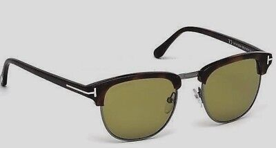36584aa21fb New James Bond Spectre 007 Authentic Tom Ford Henry TF 248 52N Sunglasses w  case
