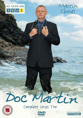 DOC MARTIN COMPLETE SERIES 2 DVD Second Season 2nd Brand New Sealed UK R2