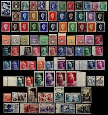 France = Timbres Neufs ** Annee 1945 Complete