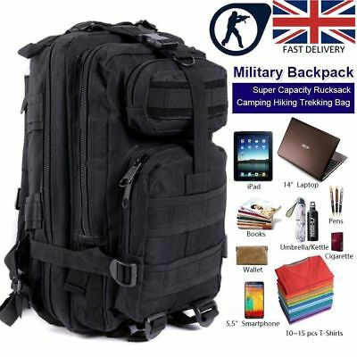 35L 45L Military Tactical Army Rucksacks Molle Backpack Camping Hiking Bag