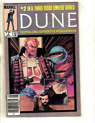Dune # 3 VG/FN Marvel Comic Book Limited Series Movie Adaptation 1985 WS9