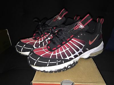size 40 84d15 7e300 AS IS NIKE Air Max 120 Mens 8 Black Red New Black Vintage Classic Deadstock