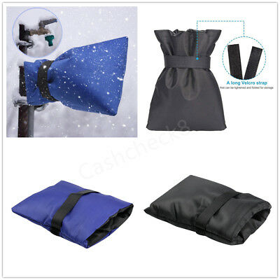 Winter Thermal Insulating Faucet Tap Cover Garden Outdoor Anti Snow Ice Frost UK