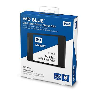 "Hard Disk Stato Solido 2,5"" Sata Ssd 3D Nand Western Digital Blue 250Gb"