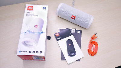 Cassa Portatile Speaker Bluetooth Wireless Jbl Flip 4 Bianca White Impermeabile
