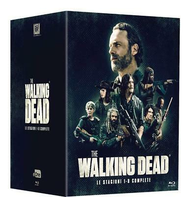 The Walking Dead - Stagioni Da 1 A 8 (34 Blu-Ray) Cofanetto Unico, Italiano
