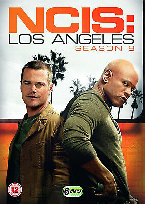 NCIS LOS ANGELES Complete Season 8 DVD Box Set Series LA Eigth 8th Eight NEW UK