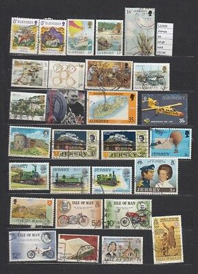 Stamps Lot British Colonies & Territories Used (L22920)