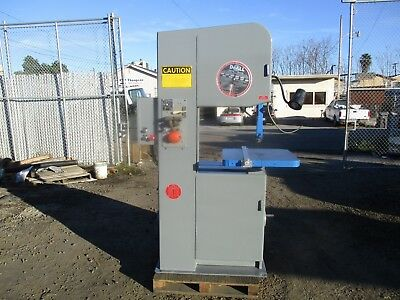 """DoAll Model 2013-10 Vertical Band Saw, 20"""" Capacity With Welder!"""