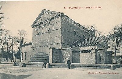 CPA - France - (86) Vienne - Poitiers - Temple St-Jean