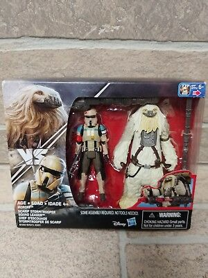 """Star Wars Moroff & Scarif Stormtrooper Squad Leader 3.75"""" Rogue One 2 Pack"""