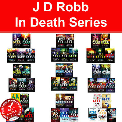 J D Robb In Death series 1-47 books collection set Crime Fiction pack NEW book