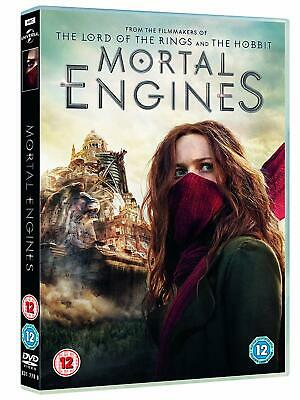 Mortal Engines DVD with Bonus Features Brand New Sealed Fast & Free Delivery