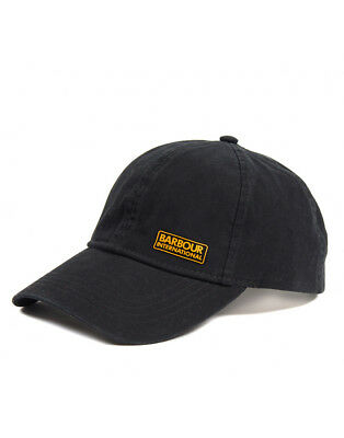 Barbour International Norton Drill Baseball Cap Black One Size