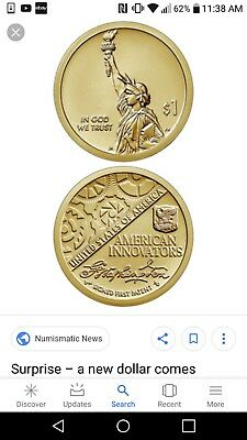2018 P&D INTRODUCTORY AMERICAN INNOVATION Series Dollar - 2 Coin set -
