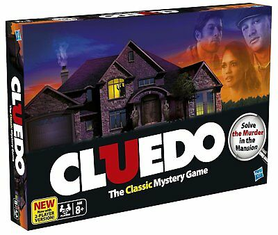 Hasbro Cluedo Board Game with 2 Player Version.New/sealed.