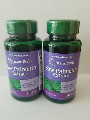Puritan's Pride Saw Palmetto Extract Mens Prostate Urinary Health 180 softgels