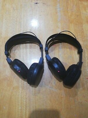 2 x Genuine Toyota Wireless Headphones