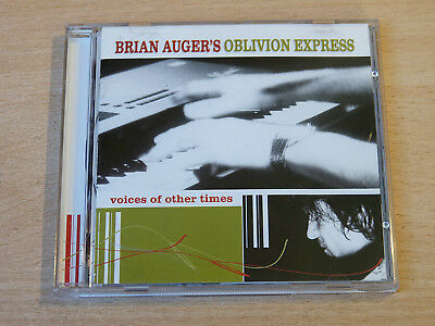 Brian Augers/Oblivion Express Voices Of Other Times/2000 CD Album