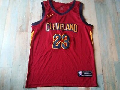 low priced 31b4a f5638 Maillot BASKET BALL NIKE NBA CLEVELAND N°23 JAMES TAILLE MD5 TBE
