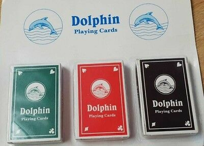 Plastic Coated Playing Cards Pack of 3 Perfect For Poker Or Other Card Games