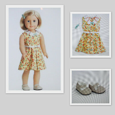 American Girl KIT FLORAL PRINT DRESS - NEW - COMPLETE - new - free shipping
