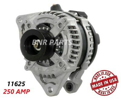 250 AMP 11625 Alternator Ford Mustang 5.0 High Output Performance HD Large Body