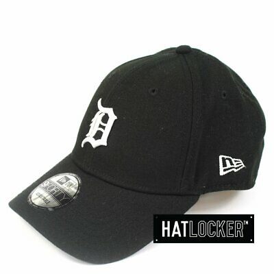 New Era - Detroit Tigers Black Poly Curved Brim