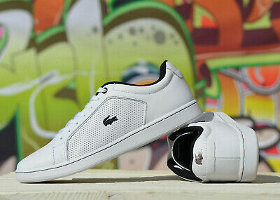 Lacoste Carnaby Evo mens white Leather 317 10 SPM ***RRP:£85.00***