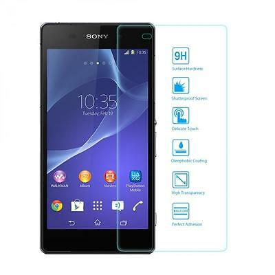 (2 Packs) HD Premium Tempered Glass Protector for Sony Xperia E3